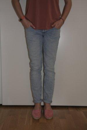 Zara Jeans bleu azur-bleu pâle