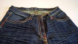 Spijkerbroek donkerblauw