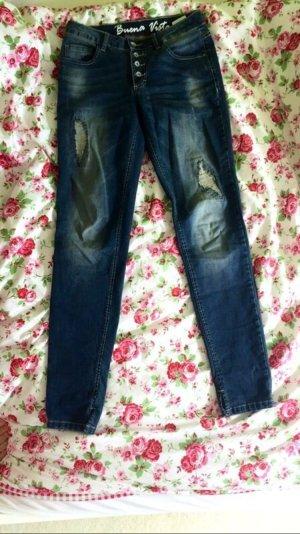 lässige Jeanshose, so gut wie ungetragen