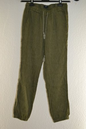 Madewell Pantalón de lino multicolor Algodón
