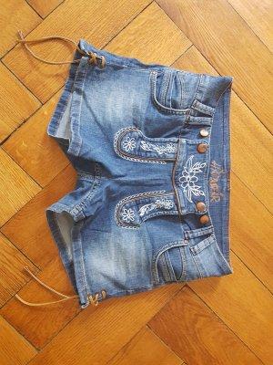 Pantalone tradizionale multicolore Cotone