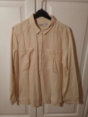 Lässige lange Hemden- Bluse
