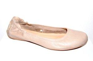 lässige Leder Mokassins - Ballerina in taupe von Daniel Hechter Gr. 39