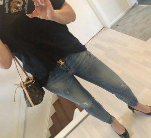 Louis Vuitton T-shirt zwart Katoen