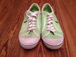 Lässige mintgrüne Ralph Lauren Schuhe ungetragen aber ca. 2 Jahre alt
