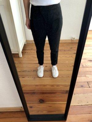 Tigha Wollen broek zwart