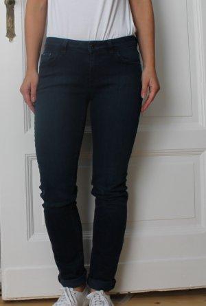 Lässige Original Hugo Boss Jeans Premium Denim Blau Gr.27/32
