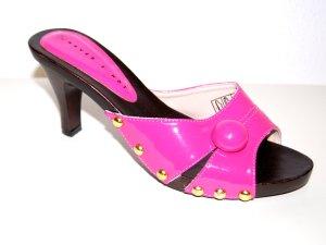 lässige - Pantolette - Clog - pink von Never 2 Hot - Gr. 37