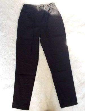 Zara Peg Top Trousers black mixture fibre