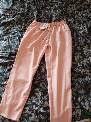 Lässige rosefarbene Hose von Zara