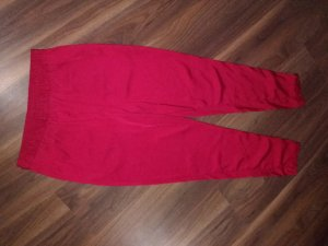 H&M Conscious Collection Pantalon en jersey rouge