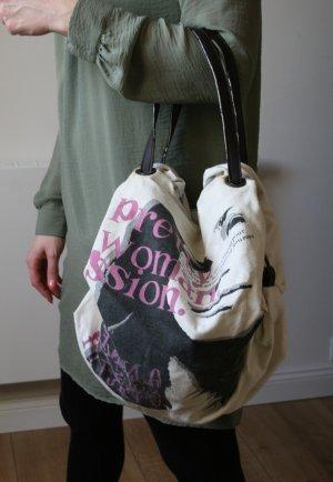 lässige, sackige Tasche