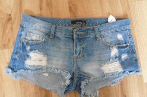 lässige Shorts, Hotpan, Jeansshorts