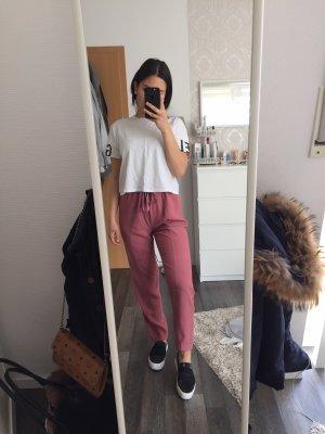 Esprit Pantalón anchos rosa empolvado-color rosa dorado