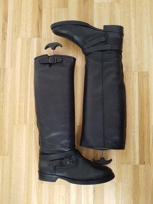 Hilfiger Denim Boots black leather