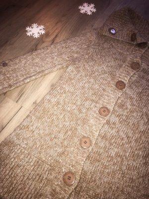 Lässige Strickjacke von Tally Weijl in braun/beige