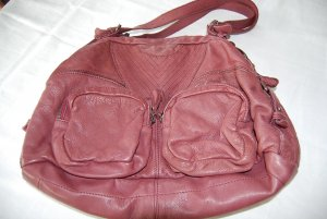 Fredsbruder Carry Bag multicolored leather