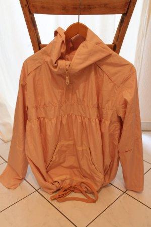 Lässige Überzieh-Jacke in rosé