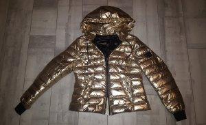lässige und coole Jacke von Marc Aurel Gr. 38/40 in GOLD, neuwertig
