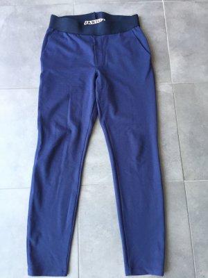 Vanilia Hoge taille broek blauw