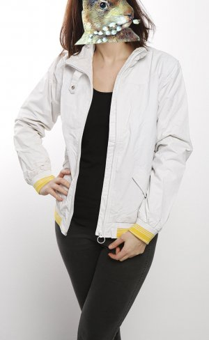Dickies Bomber Jacket white-yellow mixture fibre