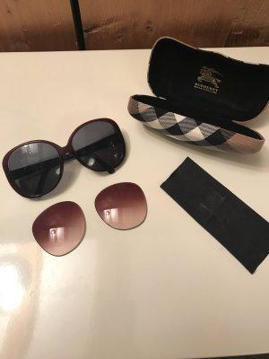 Lässige XXL-Sonnenbrille von Burberry