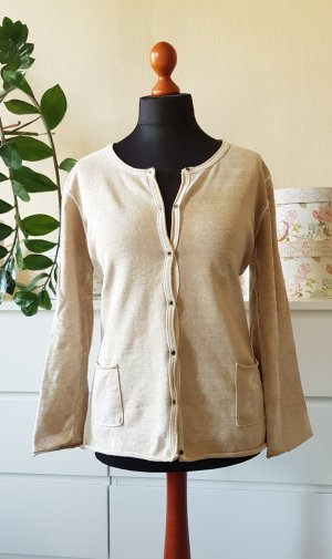 Arqueonautas Cardigan oatmeal-pale yellow