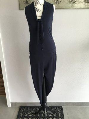 Esprit Jumpsuit donkerblauw Polyester