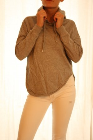Urban Classics Capuchon sweater lichtgrijs Katoen
