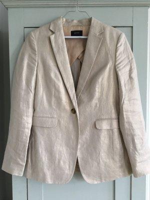 esprit collection Blazer lungo beige chiaro