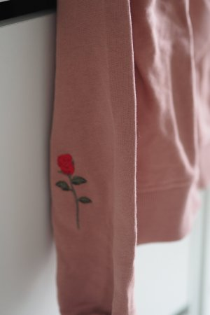 Lässiger Na-kd Pullover mit Rose