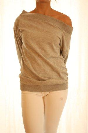 Lässiger Off-Shoulder-Pullover