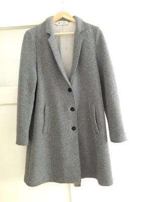 Oversized jas grijs