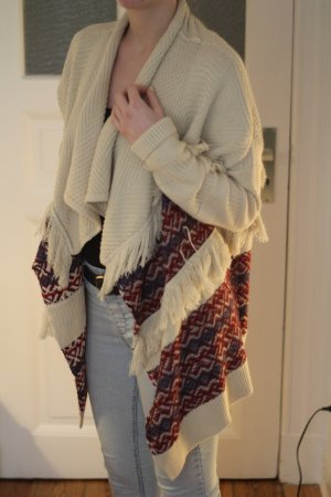 Esprit Poncho cream-red