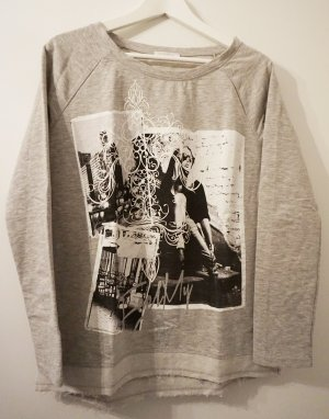 Lässiger Pullover mit Print