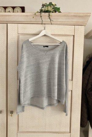BDG Kraagloze sweater lichtgrijs-grijs