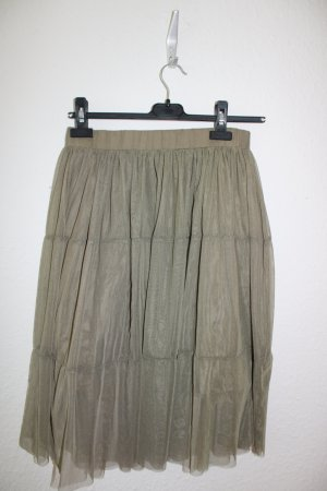 Noisy May Tulle Skirt green grey