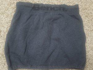 Bench Minifalda gris tejido mezclado