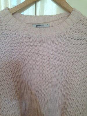 Lässiger Rosa Baumwoll Pullover von Gina Tricot