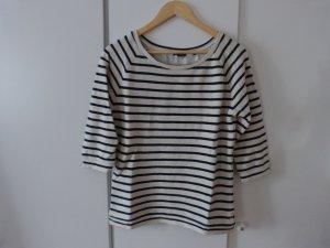 Lässiger Sweater mit Streifen