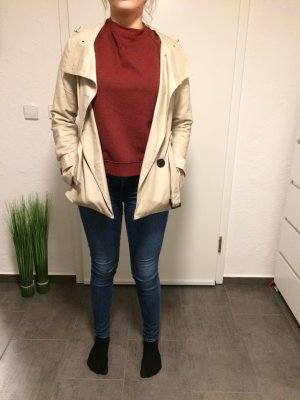 Lässiger Trenchcoat in Beige