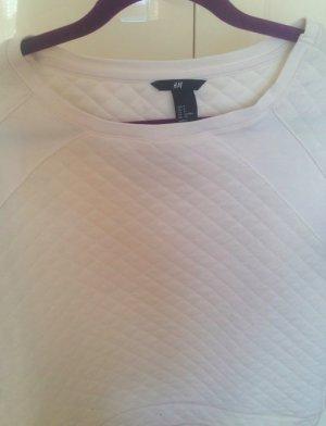 Lässiger weicher Pullover mit Karo Muster