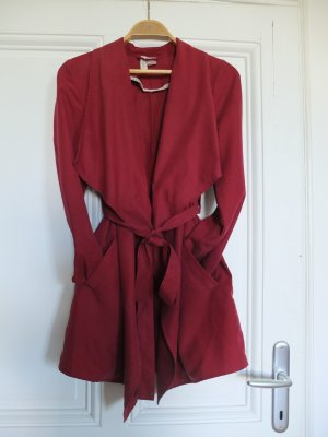 H&M Divided Trench Coat multicolored lyocell
