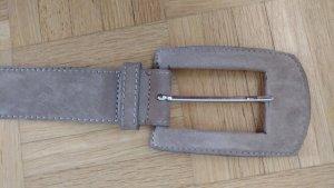 Passport Cinturón marrón grisáceo Gamuza