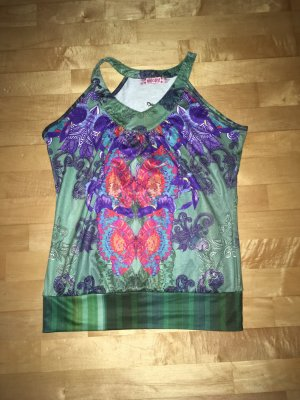 Smash Off the shoulder top veelkleurig