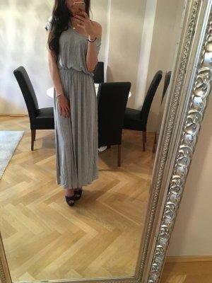 H&M Maxi abito grigio chiaro Viscosa