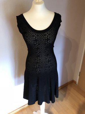 Amor & Psyche A-lijn jurk zwart Rayon
