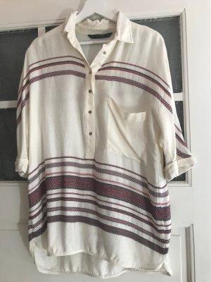 Zara Camisa de franela multicolor