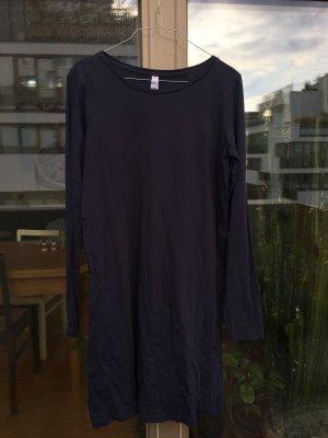 Lässiges Jersey Kleid in dunkelblau