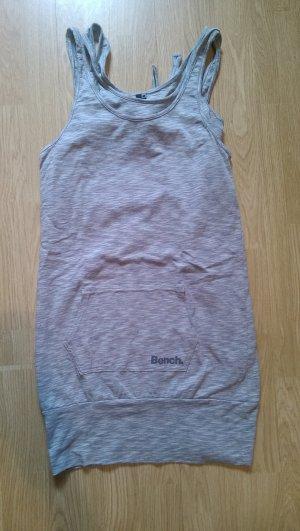 Bench Robe en jersey blanc-gris coton